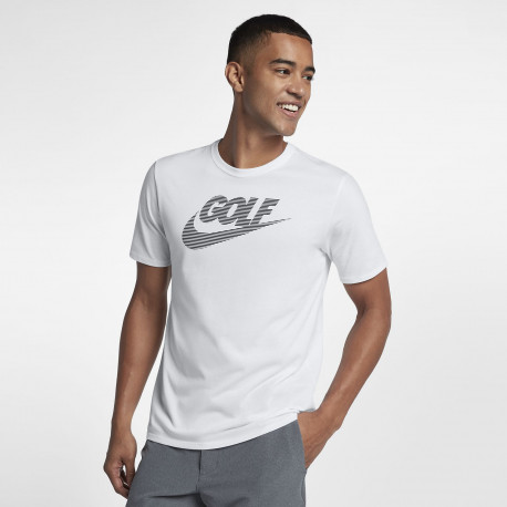 Men's Golf T-Shirt - White