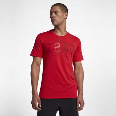 Men's Football T-Shirt - Red